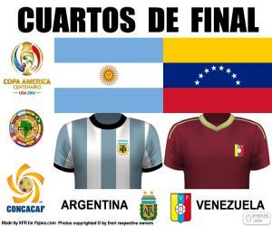 ARG - VEN, Copa America 2016 puzzle