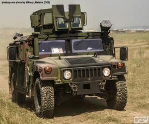 Armee Humvee puzzle