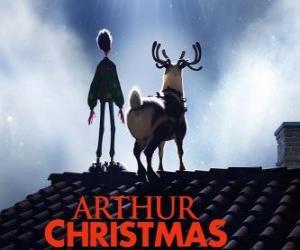 Arthur Weihnachtsmann puzzle
