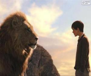 Aslan gespräch mit Edmund puzzle
