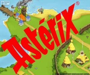 Asterix-logo puzzle