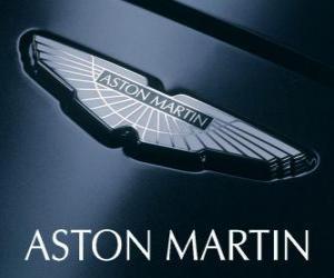 Aston Martin-Logo, britische Automobilhersteller puzzle