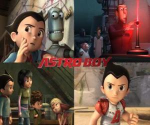 AstroBoy oder Astro Boy, mit Freunden puzzle
