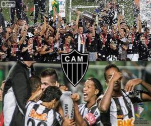 Atlético Mineiro, Meister Copa Libertadores 2013 puzzle