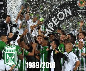 Atlético Nacional, Copa Libertadores 2016 puzzle