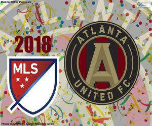 Atlanta United MSL Cup 2018 puzzle
