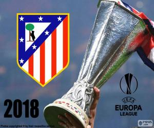 Atletico Madrid, Europa League 2018 puzzle