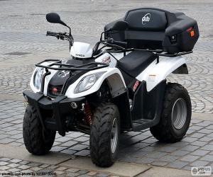 ATV oder quad puzzle