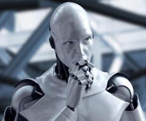 Außerirdische Roboter puzzle