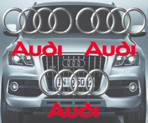 Audi-Logo, deutsche Automarke puzzle