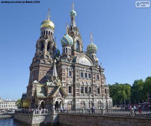 Auferstehungskirche,  Russland puzzle