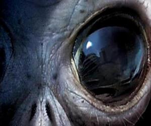 Auge außerirdischen puzzle