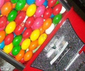 Automaten Kaugummikugeln, Kaugummiautomat puzzle