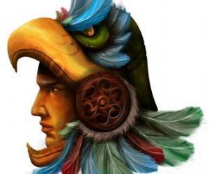 Aztec Krieger puzzle