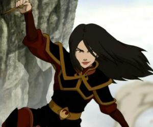 Azula ist die Princess of the Fire Nation und Zuko jüngere Schwester puzzle