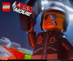 Böser Cop, die schlechten Polizei, der Polizist von der Lego-Film puzzle