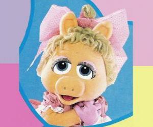 Baby-Piggy, die Muppet Baby Miss Piggy puzzle