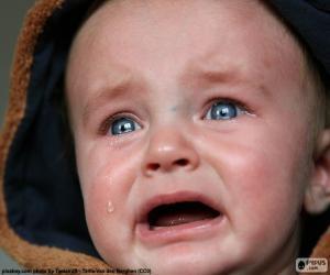 Baby Tränen puzzle