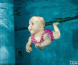 Babyschwimmen puzzle