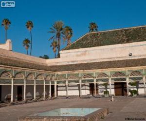 Bahia-Palast, Marrakesch, Marokko puzzle