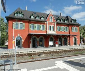 Bahnhofsgebäude puzzle