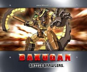 Bakugan Subterra Gorem ist die Hüterin der Julie puzzle
