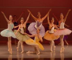 Ballett-Karte puzzle