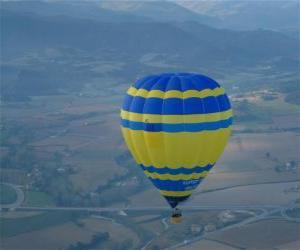 Ballon fliegen puzzle