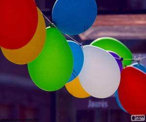 Ballons für Feier puzzle