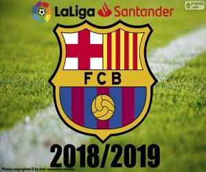 Barça, Meister 2018-2019 puzzle