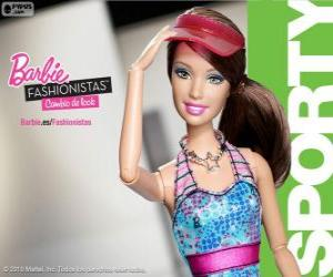 Barbie Fashionista Sporty puzzle