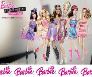 Barbie FASHIONISTAS puzzle