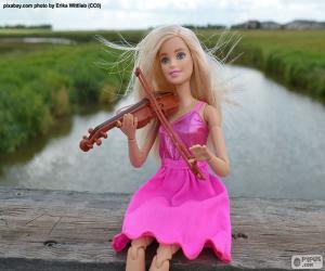 Barbie spielt die Geige puzzle