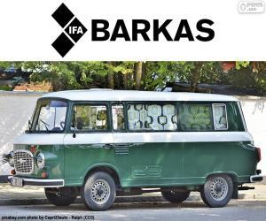 Barkas B1000 puzzle