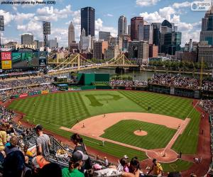 Baseball-Stadion puzzle