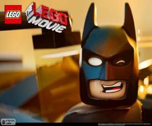 Batman, ein Superheld, der hilft das Lego-Universum zu retten puzzle