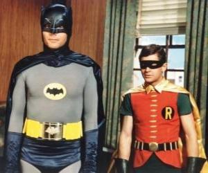 Batman und Robin puzzle