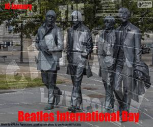 Beatles International Day puzzle