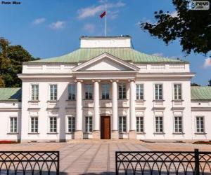 Belvedere Palast, Warschau, Polen puzzle