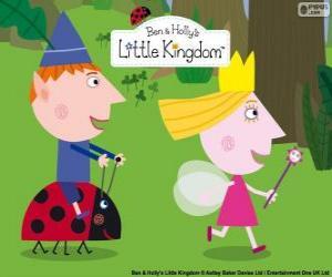 Ben, Holly und Gaston, drei gute Freunde im kleinen Königreich puzzle