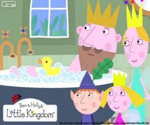 Ben und Holly mit den Königen puzzle