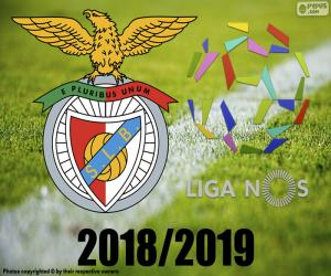 Benfica, Weltmeister 2018-2019 puzzle