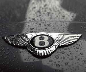 Bentley-Logo, britische Automobilhersteller puzzle