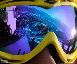 Bereit zum Skispringen puzzle