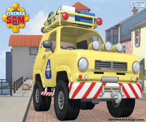 Bergrettungswagen Tom, Feuerwehrmann Sam puzzle