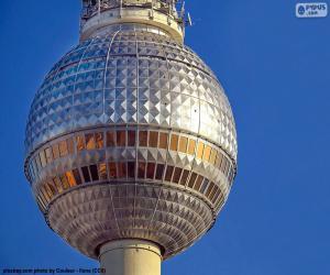 Berliner Fernsehturm, Deutschland puzzle