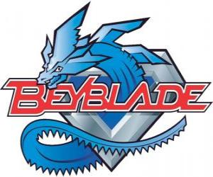 Beyblade-Logo puzzle