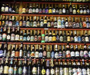 Bierflaschen puzzle