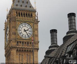 Big Ben, London puzzle