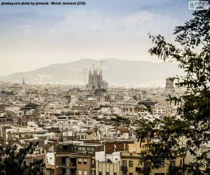 Bild von Barcelona puzzle